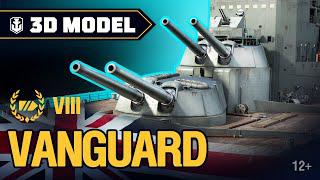 Сухой док. Vanguard. История кораблей World of Warships.