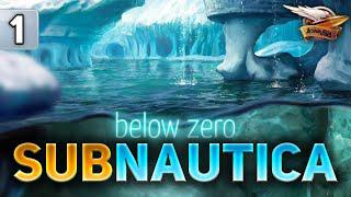 SUBNAUTICA BELOW ZERO - Переезжаем к пингвинам - Часть 1