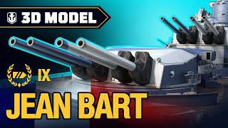 Сухой Док: Jean Bart | World of Warships